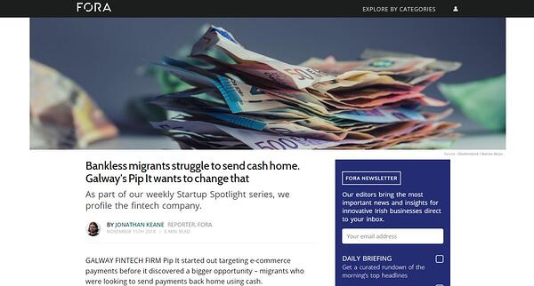 PiP iT Global News - PiP IT Global Featured In Fora