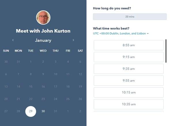 Meet with John