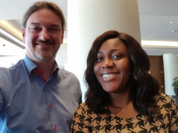 PiP iT Global Blog - PiP IT Global West Africa Tour - Ollie and Dede from ZeePay