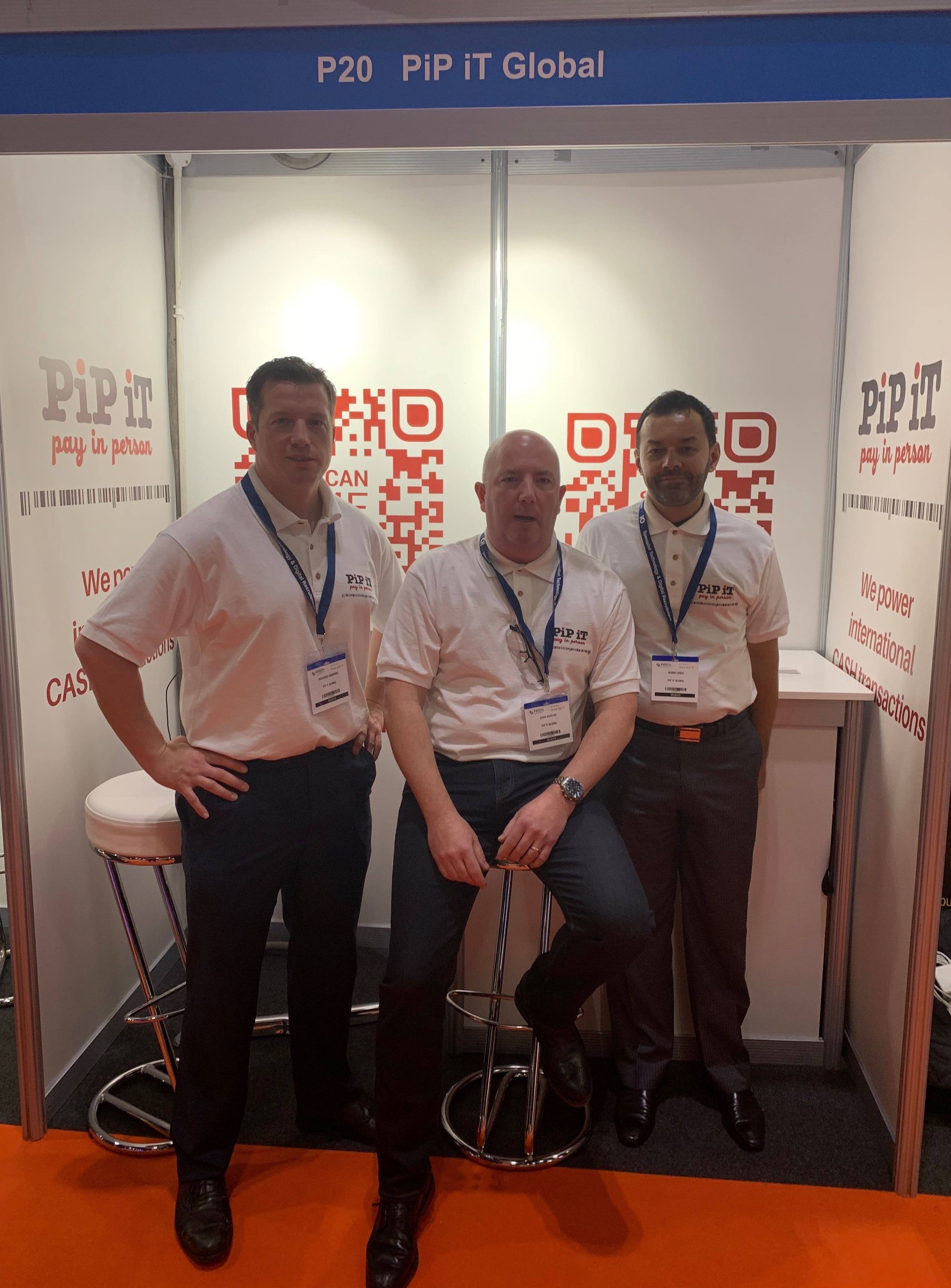 PiP iT Global - Pip IT Is Exhibiting At Fintech Connect – London - Richard, John and Bobby