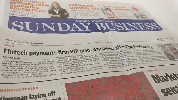 PiP iT Global News - PiP IT Global In Sunday Independent