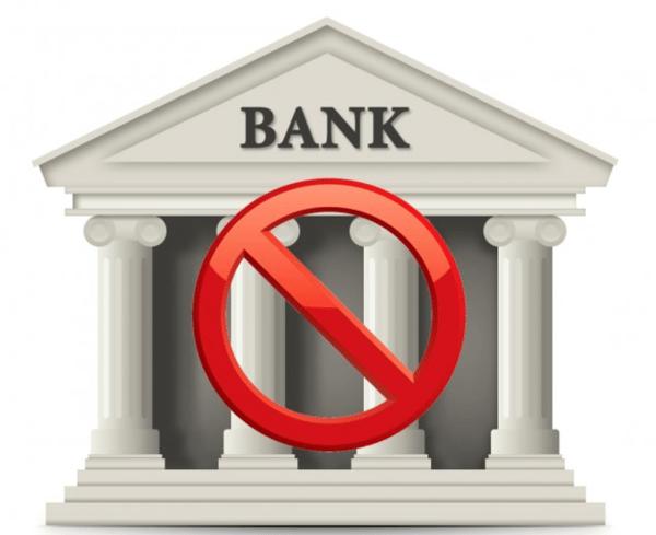 no bank account